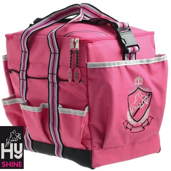 HySHINE Deluxe Grooming Bag_Pink