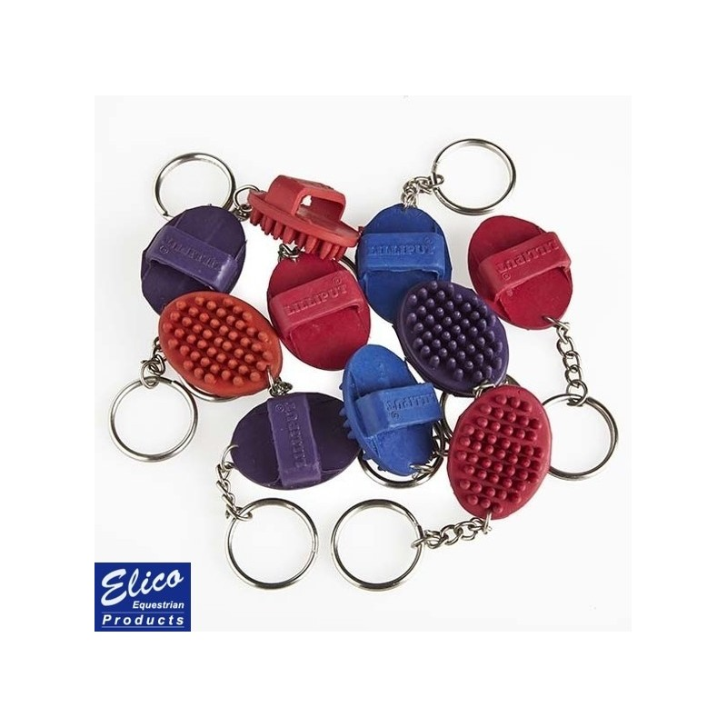 Elico Lilliput Curry Comb Keyring