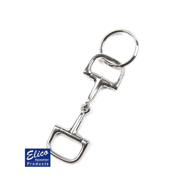 Elico Keyring - D Ring Snaffle Bit