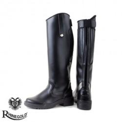 Rhinegold Nebraska Synthetic Long Riding Boots (sizes 3-8)