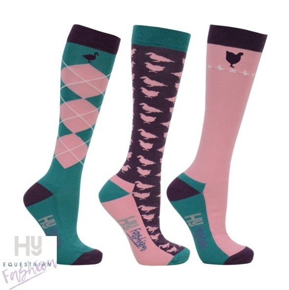 HyFASHION Farm Yard Socks (Pack 3)