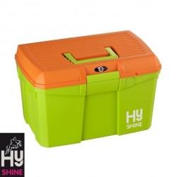 HySHINE Tack Box – Lime Green/Orange