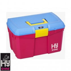 HySHINE Tack Box – Blue/Pink/Yellow
