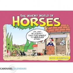 Wacky World Of Horses – Cartoon Horse Calendar 2018
