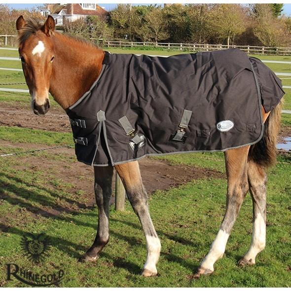 """Rhinegold Konig Small Pony/Foal  Mediumweight Outdoor Rug – 3'6"""" - 4'3"""""""