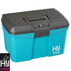 HySHINE Tack Box – Capri Breeze/Grey – CLEARANCE STOCK