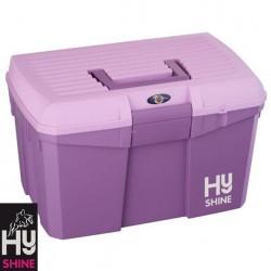 HySHINE Tack Box – Dahlia/Lilac – CLEARANCE STOCK