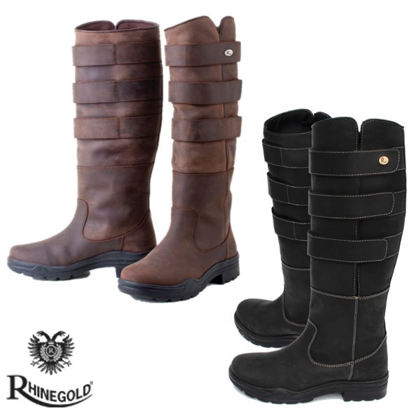 Rhinegold Elite Colorado Leather Boot