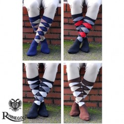 Rhinegold Mens Fully Cushioned Sole Riding Socks