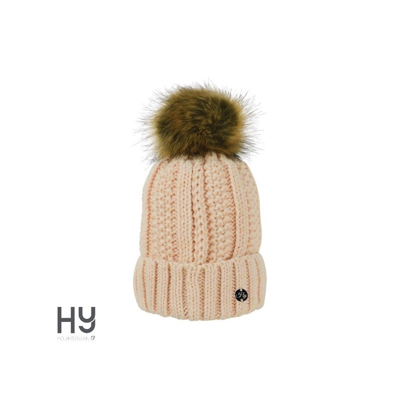 HyFASHION Aspen Metallic Bobble Hat