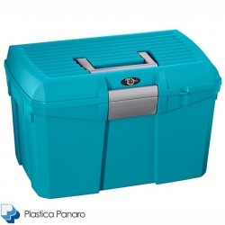 Plastica Panaro Tack Box – Medium – Midnight Blue