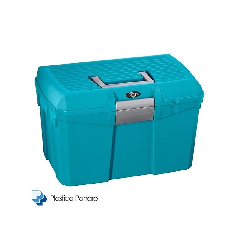 Plastica Panaro Tack Box – Medium – Midnight Blue