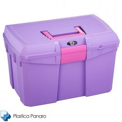 Plastica Panaro Tack Box – Medium – Aster Purple