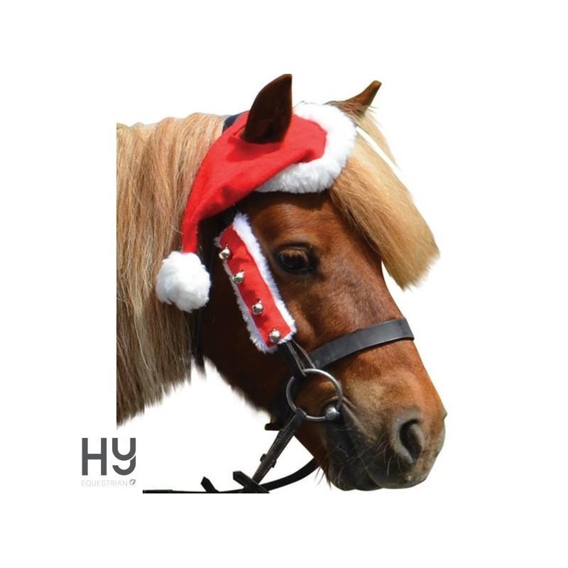 Hy Christmas Santa Horse Hat
