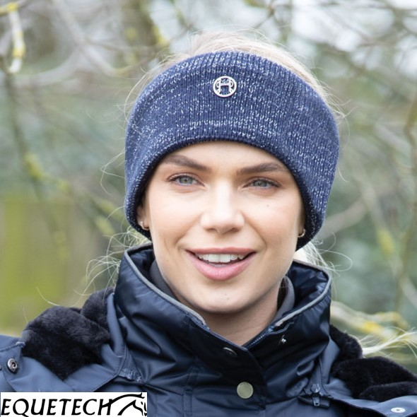 Equetech Contrast Knit Headband