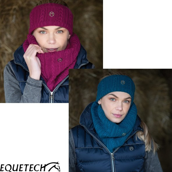 Equetech Cable Twist Knit Headband
