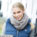 Equetech Metallic Deluxe Knit Infinity Scarf
