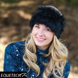 Equetech Faux Fur Knot Headband