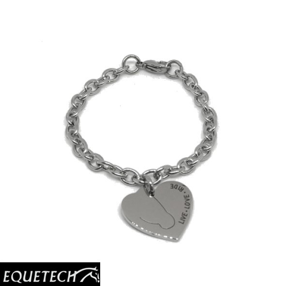 Equetech Love My Horse Bracelet