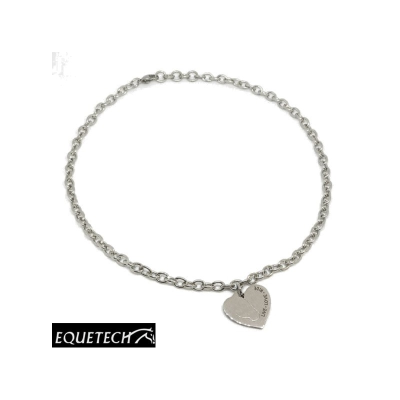 Equetech Love My Horse Necklace