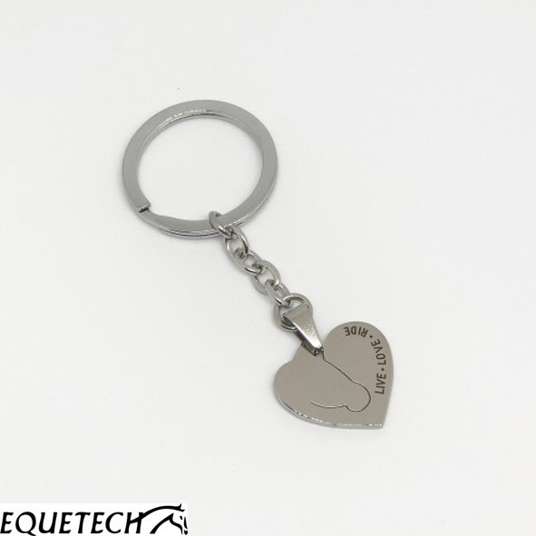 Equetech Love My Horse Keyring