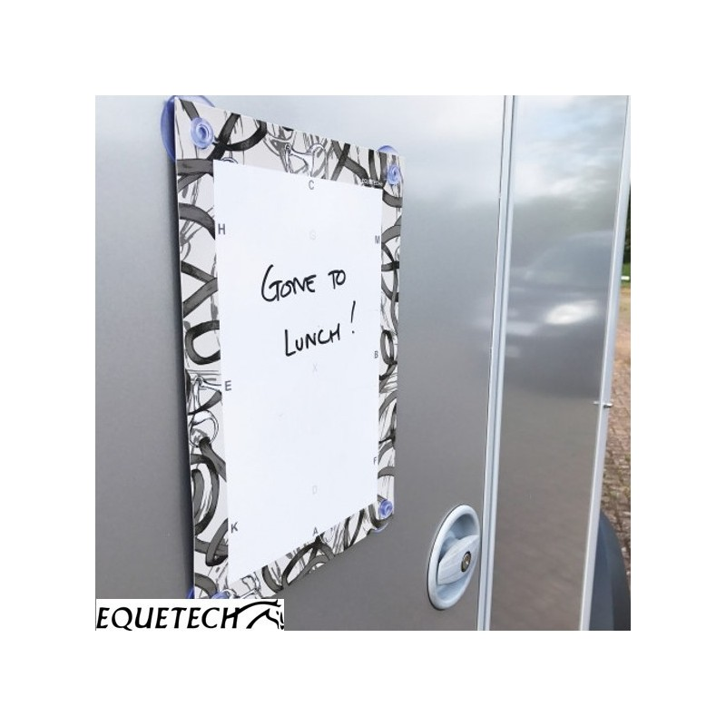 Equetech Dressage/Notes Magnetic Whiteboard – Bridles