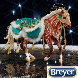Minstrel Breyer Holiday Horse 2019