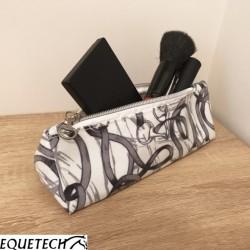 Equetech Bridles Oilcloth Make-Up Bag