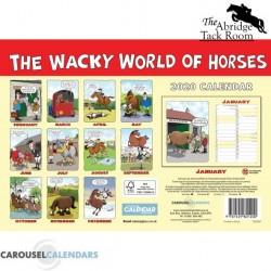 Wacky World Of Horses – Cartoon Horse Calendar 2020