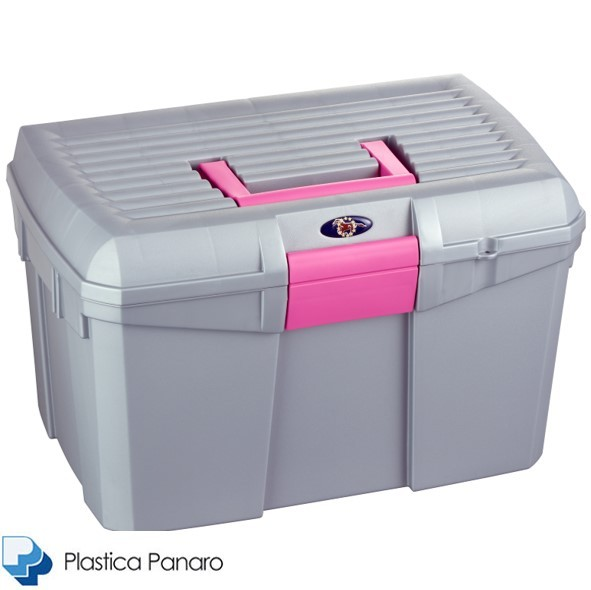 Plastica Panaro Tack Box – Medium – Opal Grey