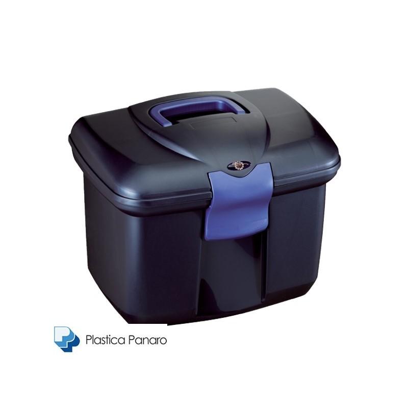 Plastica Panaro Grooming Box Large – Midnight Blue