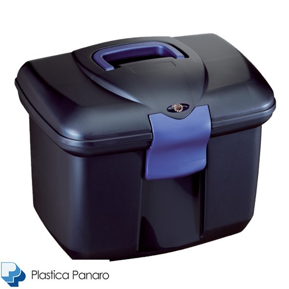 Plastica Panaro Grooming Box Large – Midnight Blue