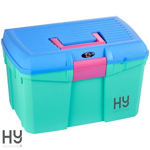 HySHINE Tack Box – Aruba Blue