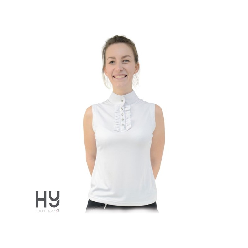 HyFASHION Katherine Ruffle Sleeveless Show Shirt