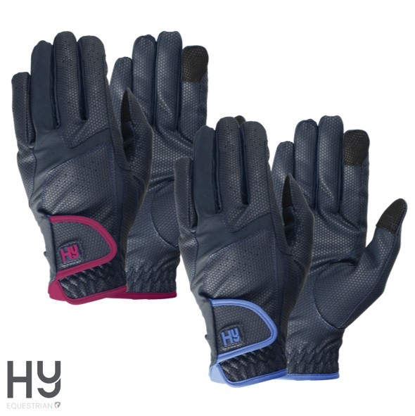Hy5 Sport Active Riding Gloves_Regal Blue
