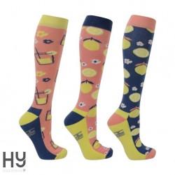HyFASHION Fruity Lemon Socks