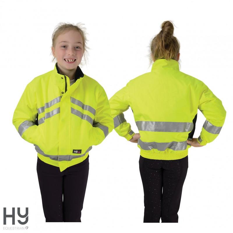 HyVIZ Reflective Waterproof Children's Blouson