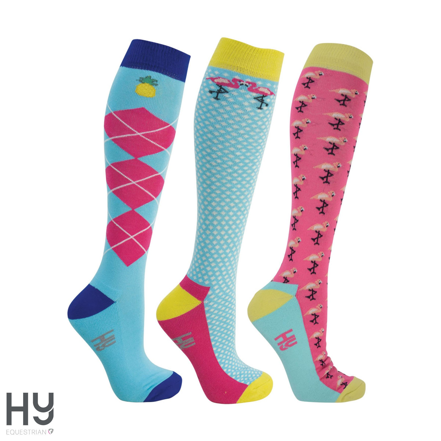 HyFASHION Flamingo Socks