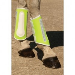 Harlequin Reflective Brushing Boots