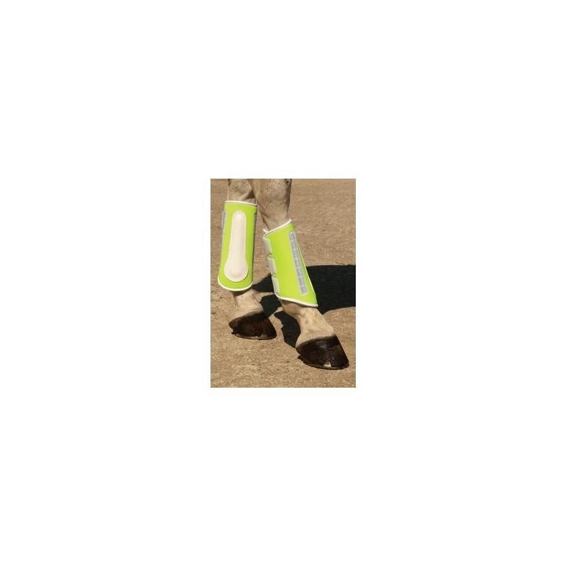 Harlequin Reflective Brushing Boots