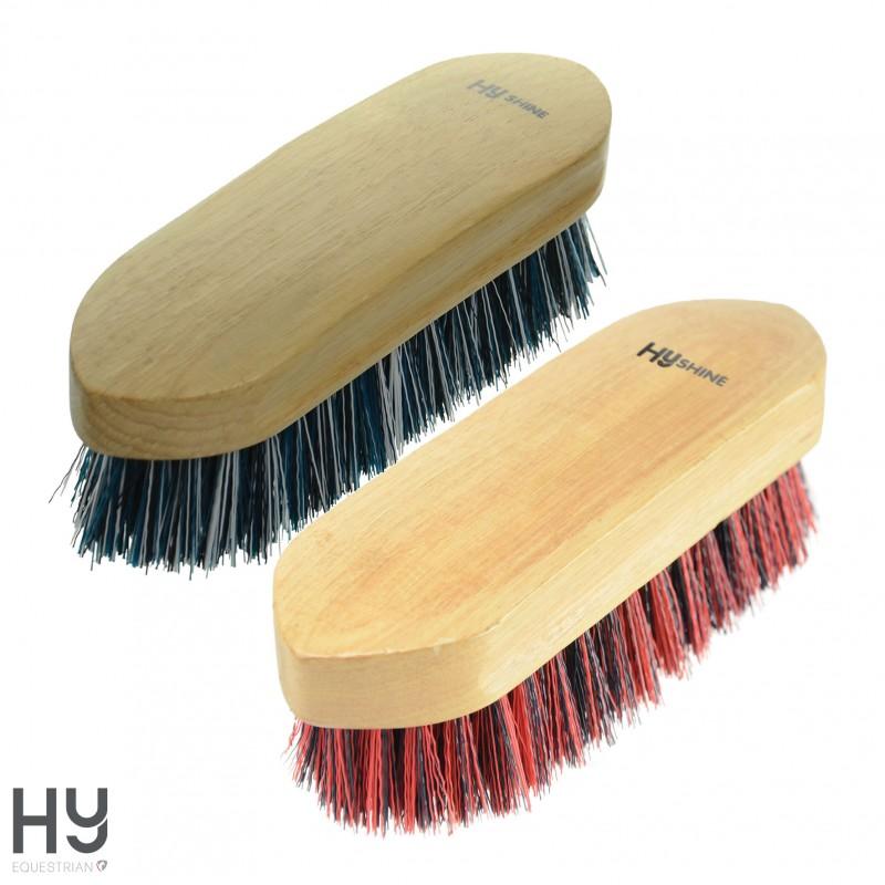 HySHINE Natural Wooden Dandy Brush