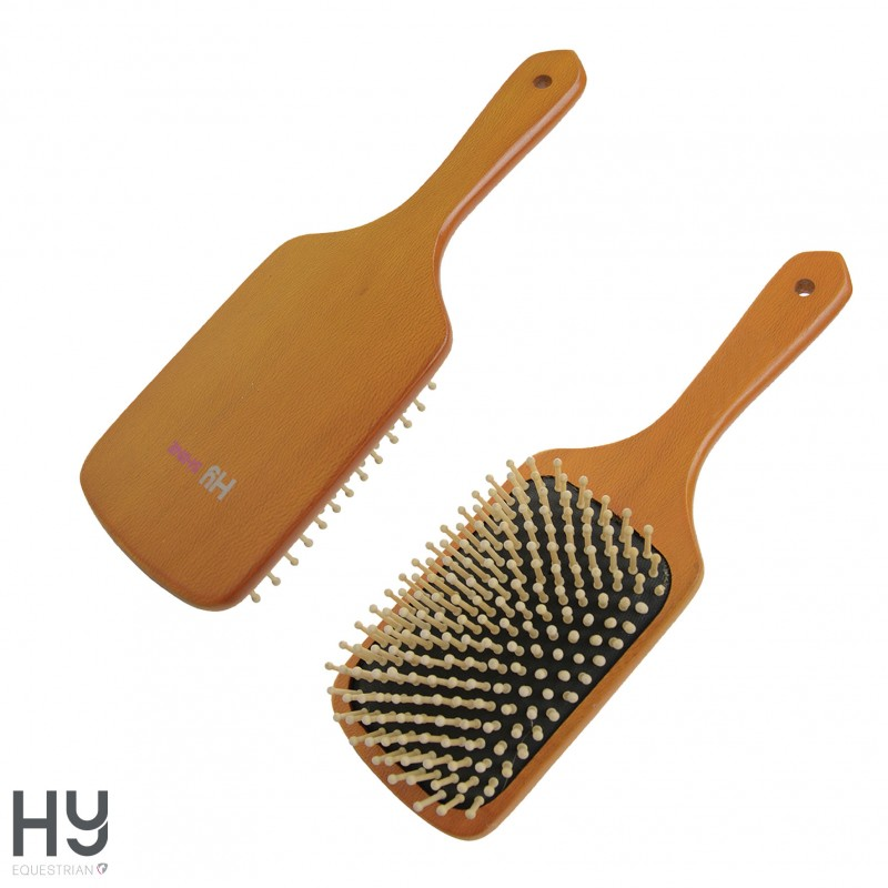 HySHINE Luxury Wooden Mane & Tail Brush