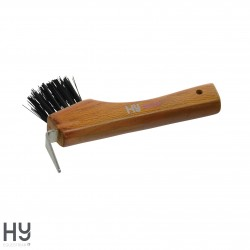 HySHINE Luxury Hoof Pick with Brush