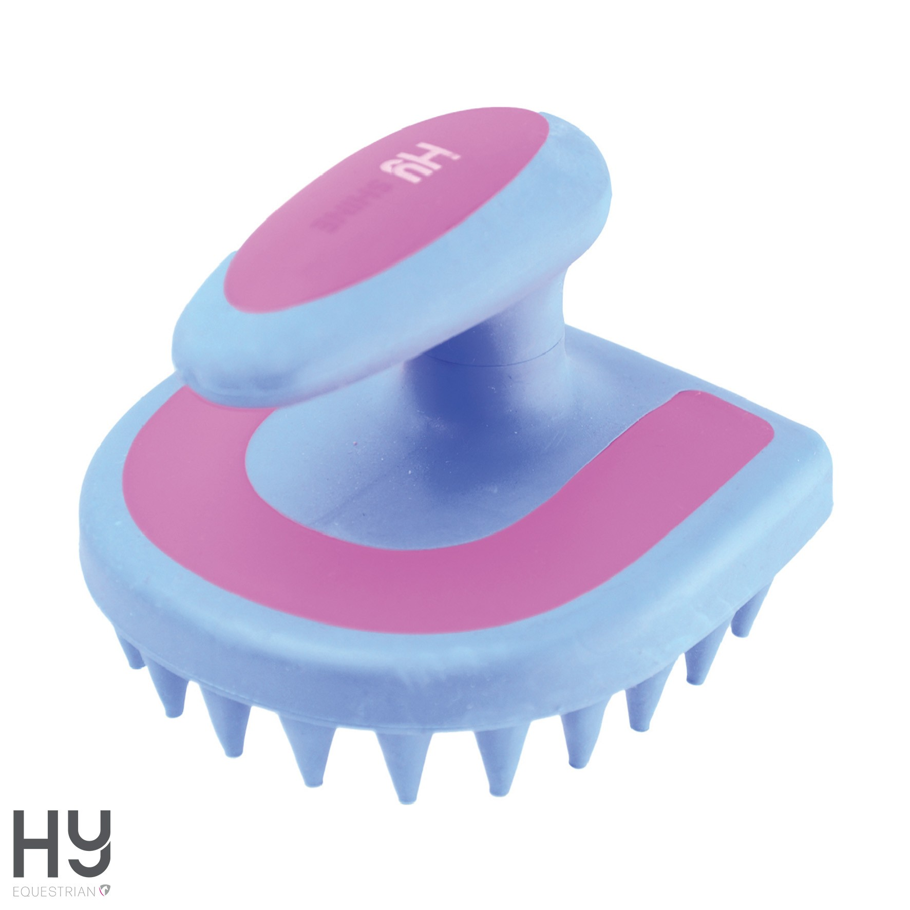 HySHINE Horseshoe Massage Brush
