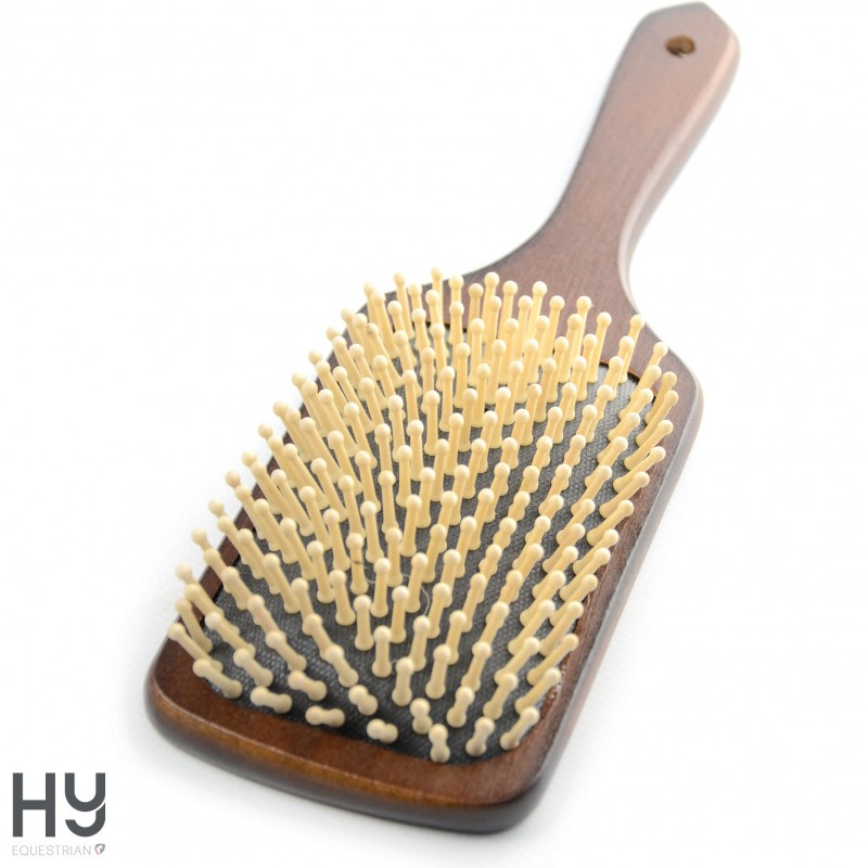 HySHINE Deluxe Wooden Mane & Tail Brush