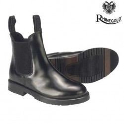 Rhinegold Adults Classic Leather Jodhpur Boots (sizes 6-11)