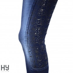 HyPERFORMANCE Cambridge Denim Look Breeches