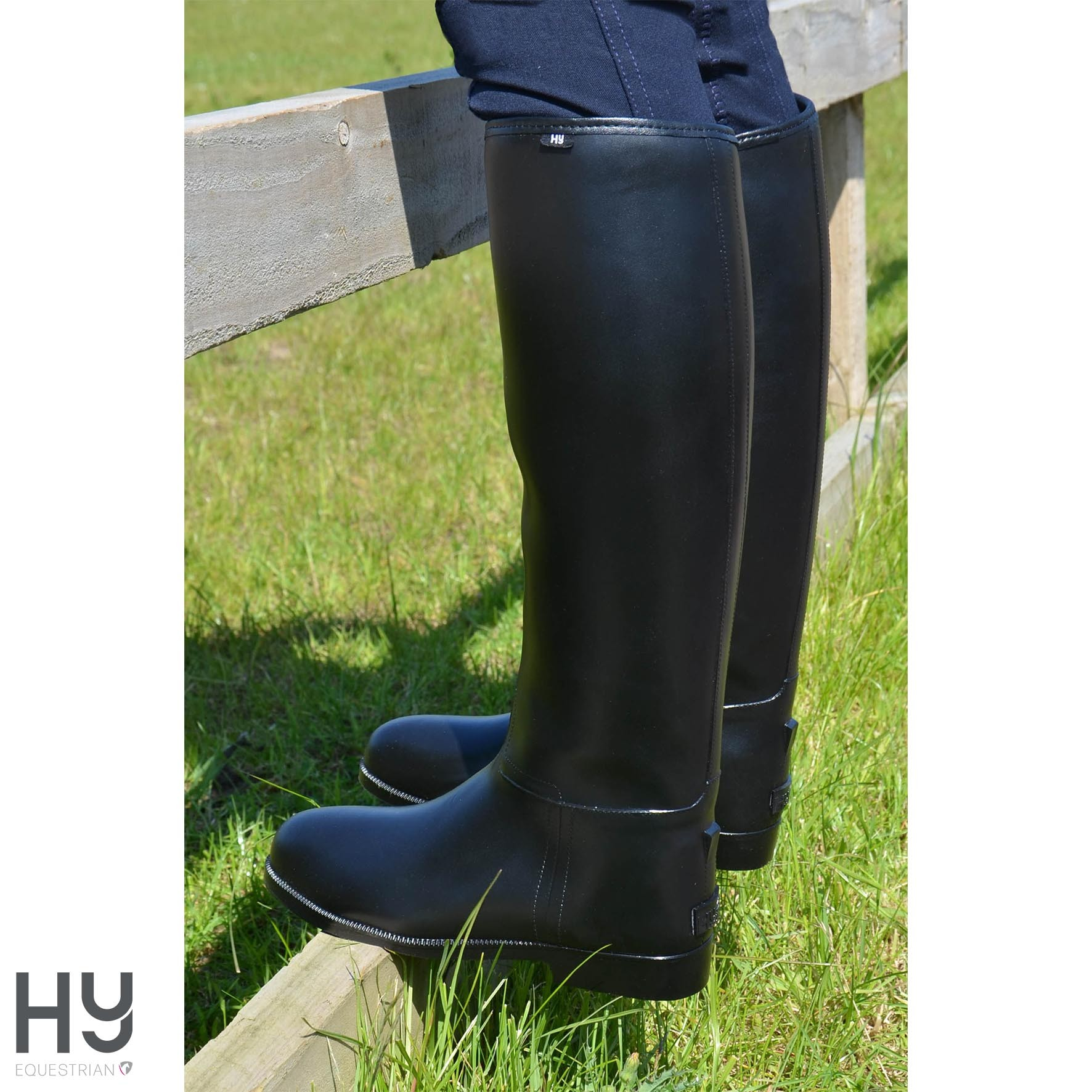 HyLAND Children's Long Greenland Waterproof Riding Boots