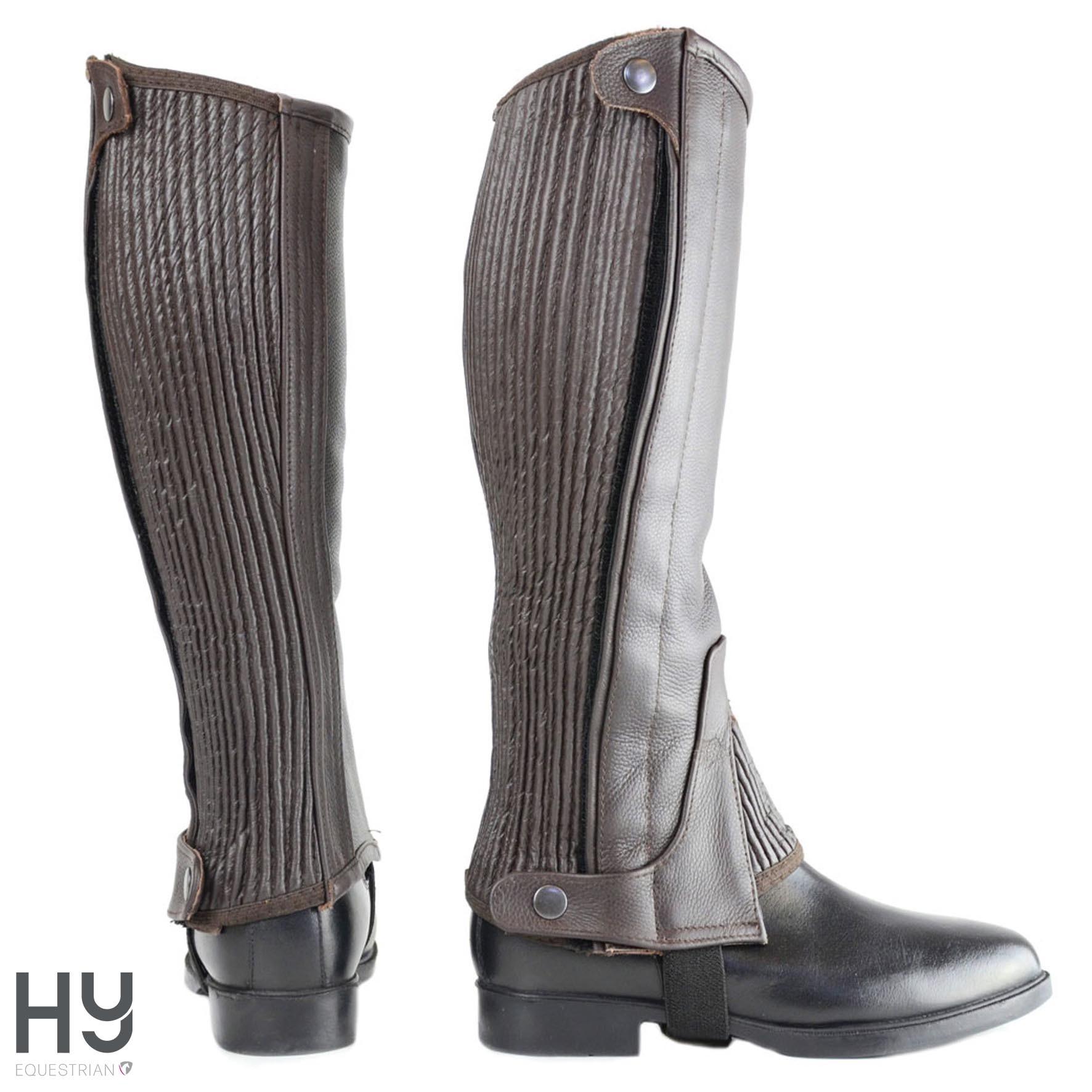 HyLAND Leather Half Chaps