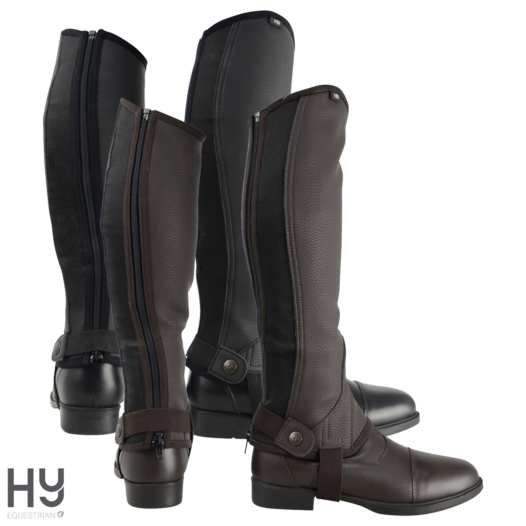 HyLAND Children's Synthetic Combi Leather Chaps